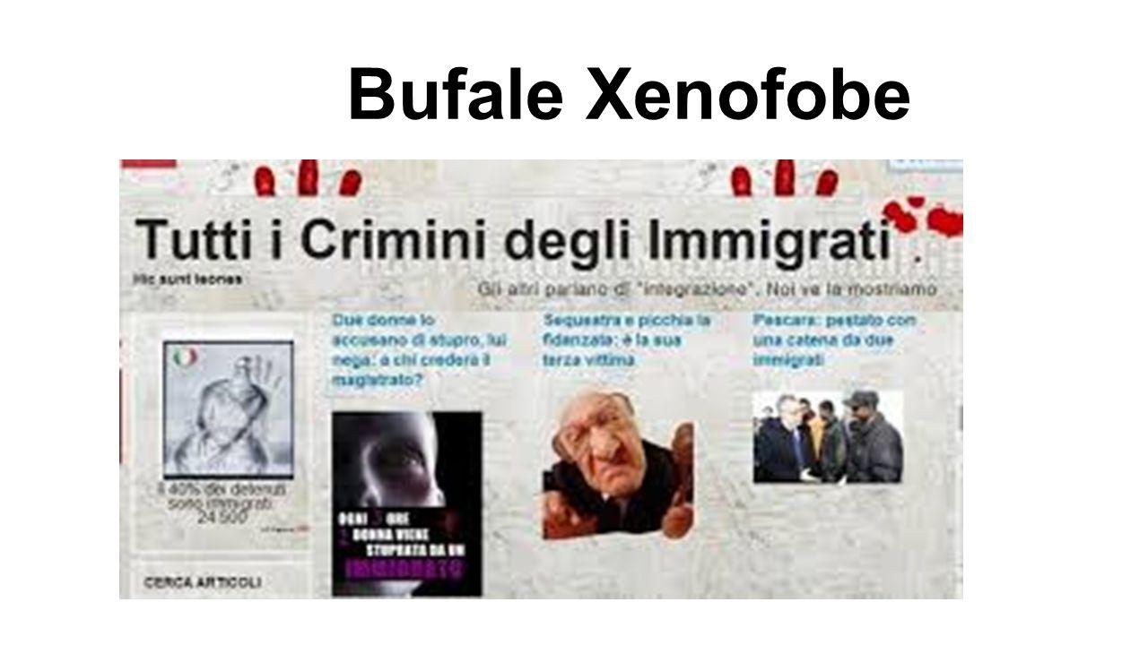 Bufale Xenofobe