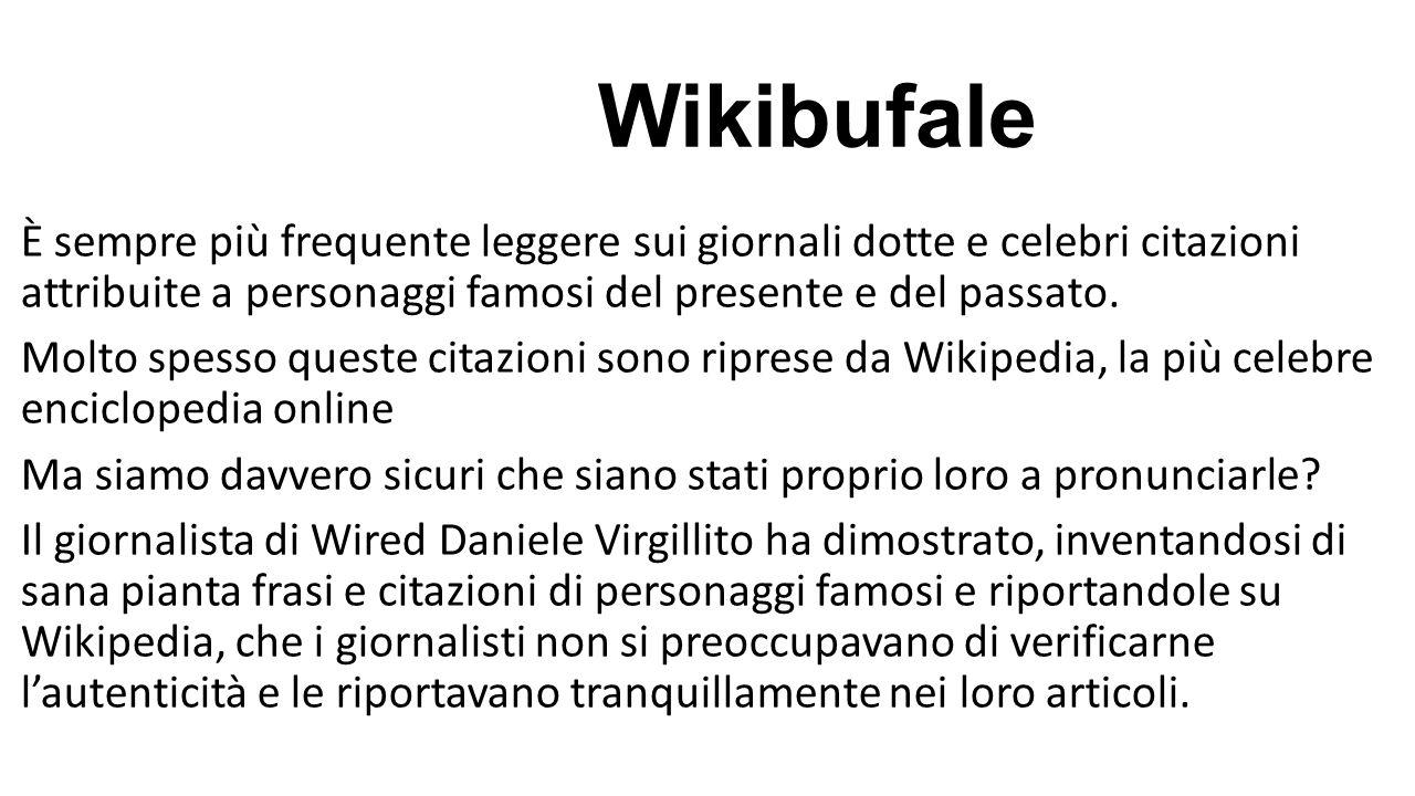 Wikibufale