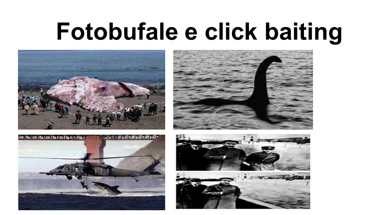 Fotobufale e click baiting