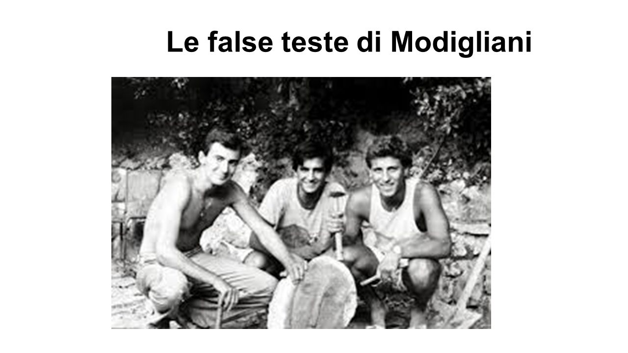 Le false teste di Modigliani