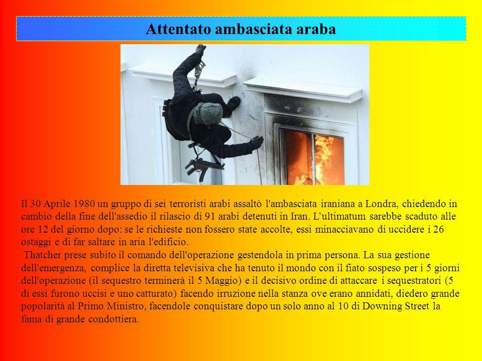 Attentato ambasciata araba