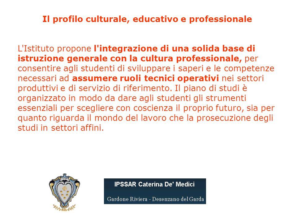 Il profilo culturale, educativo e professionale