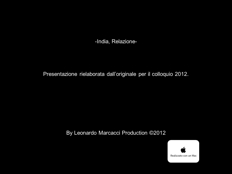 Presentazione rielaborata dall'originale per il colloquio 2012.