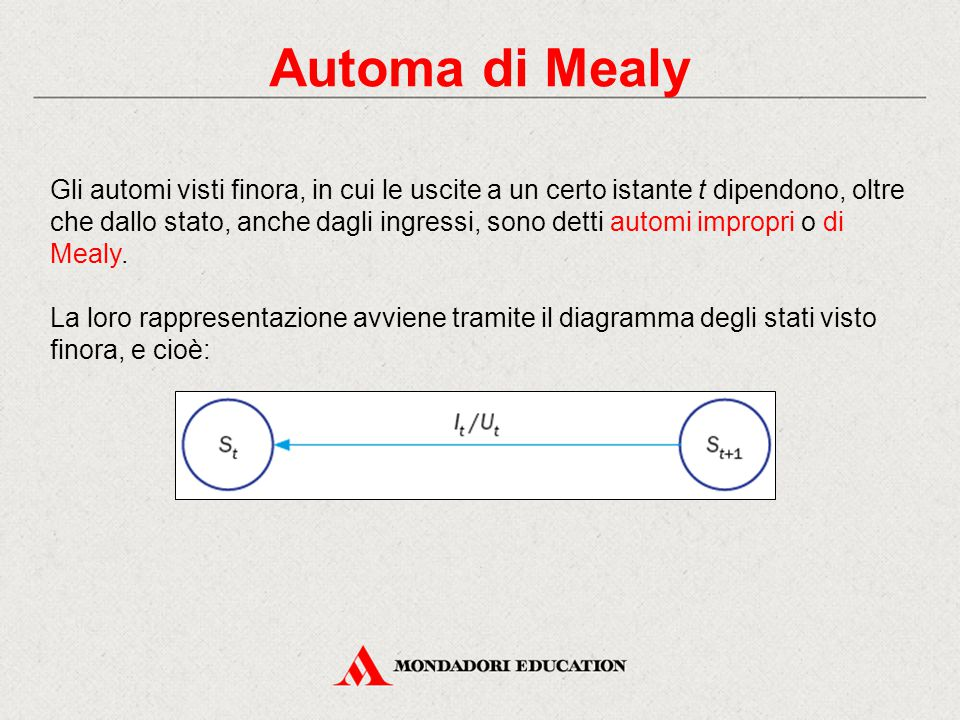 Automa di Mealy