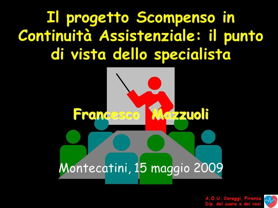 Il progetto Scompenso in Continuità Assistenziale: il punto di vista dello specialista