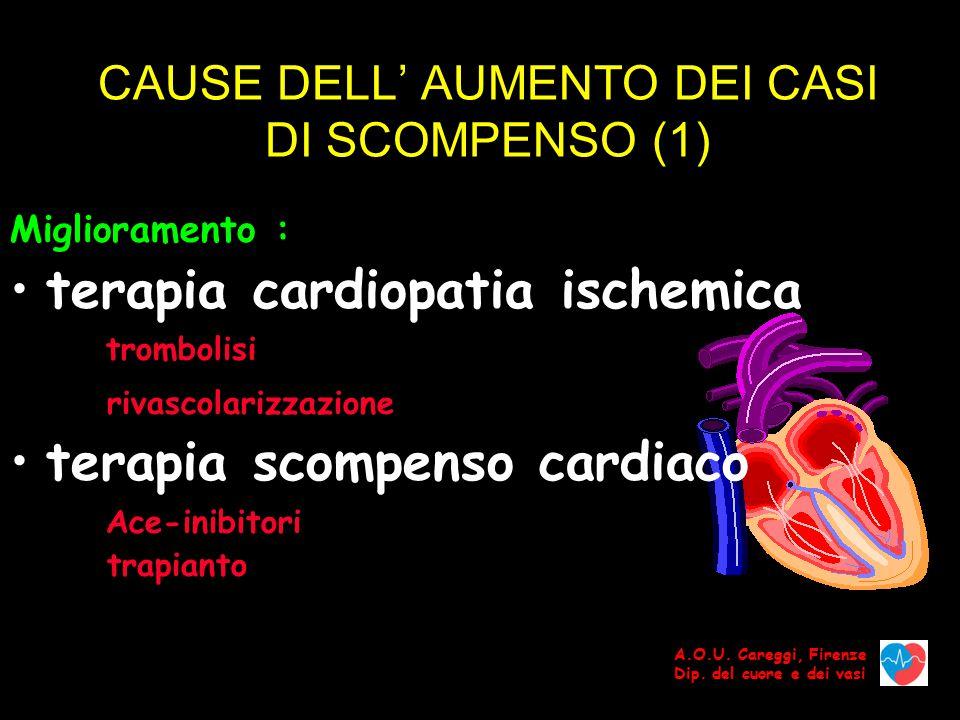 CAUSE DELL' AUMENTO DEI CASI DI SCOMPENSO (1)