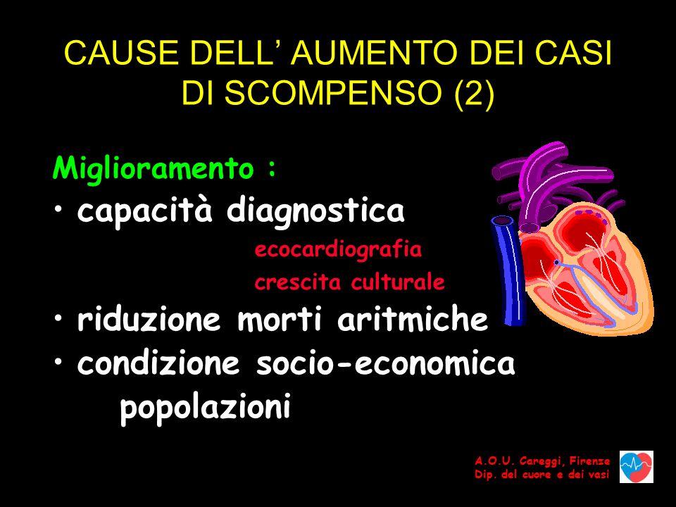 CAUSE DELL' AUMENTO DEI CASI DI SCOMPENSO (2)