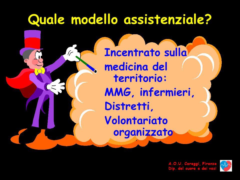 Quale modello assistenziale