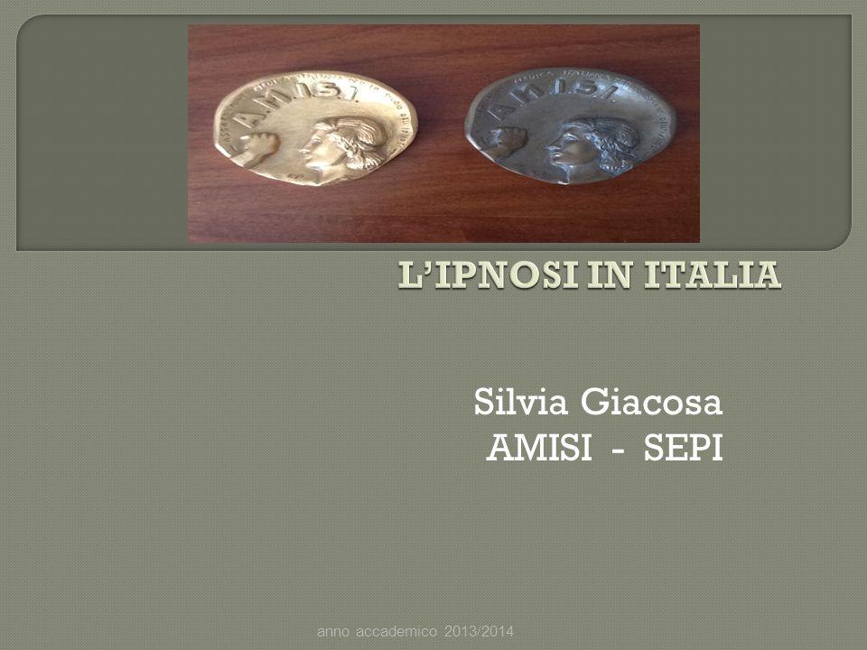 Silvia Giacosa AMISI - SEPI
