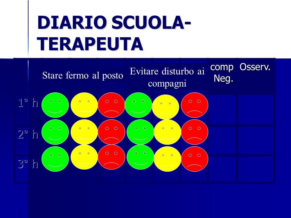 DIARIO SCUOLA-TERAPEUTA