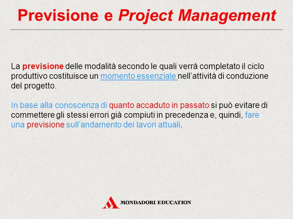 Previsione e Project Management