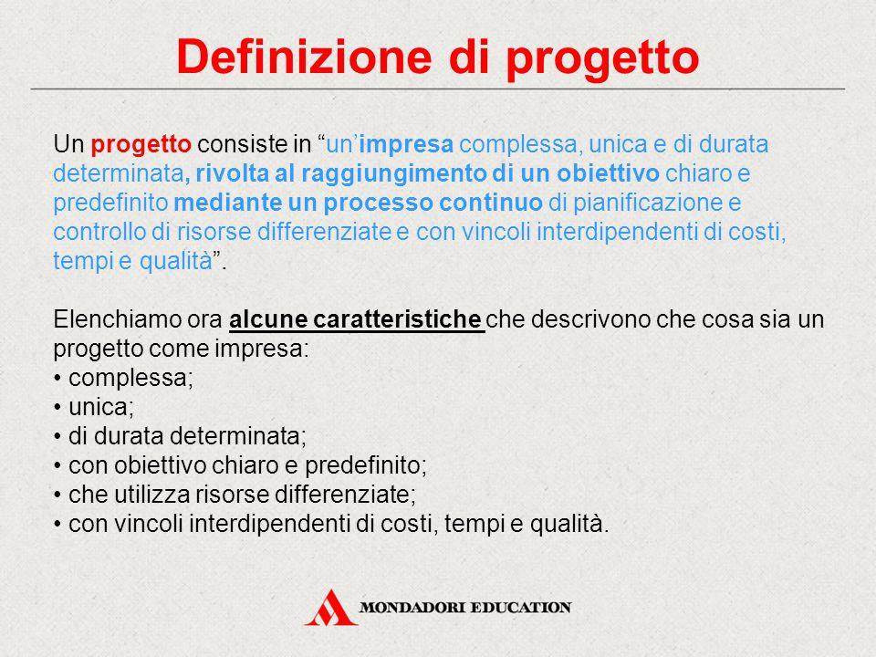 Definizione di progetto