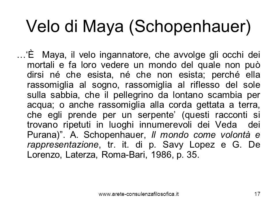 Velo di Maya (Schopenhauer)
