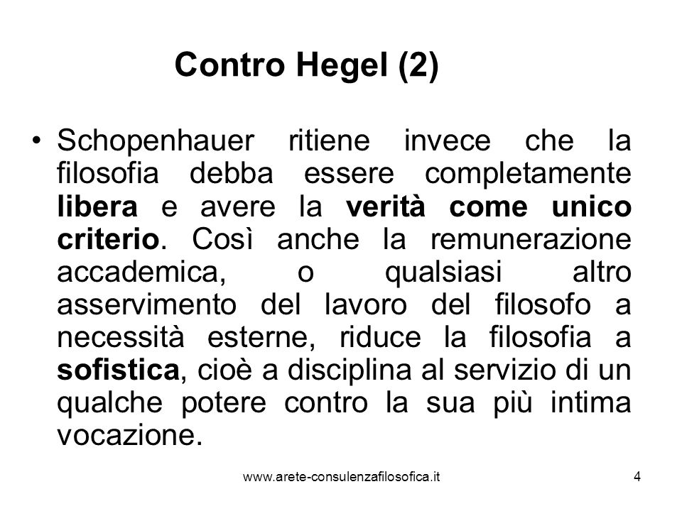 Contro Hegel (2)