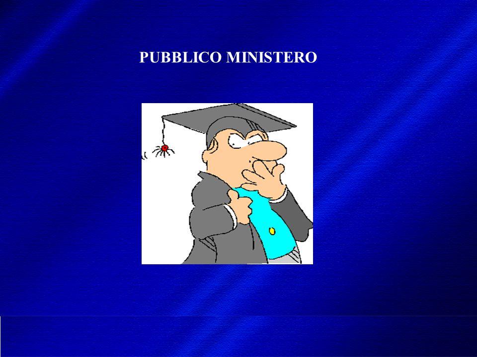 PUBBLICO MINISTERO