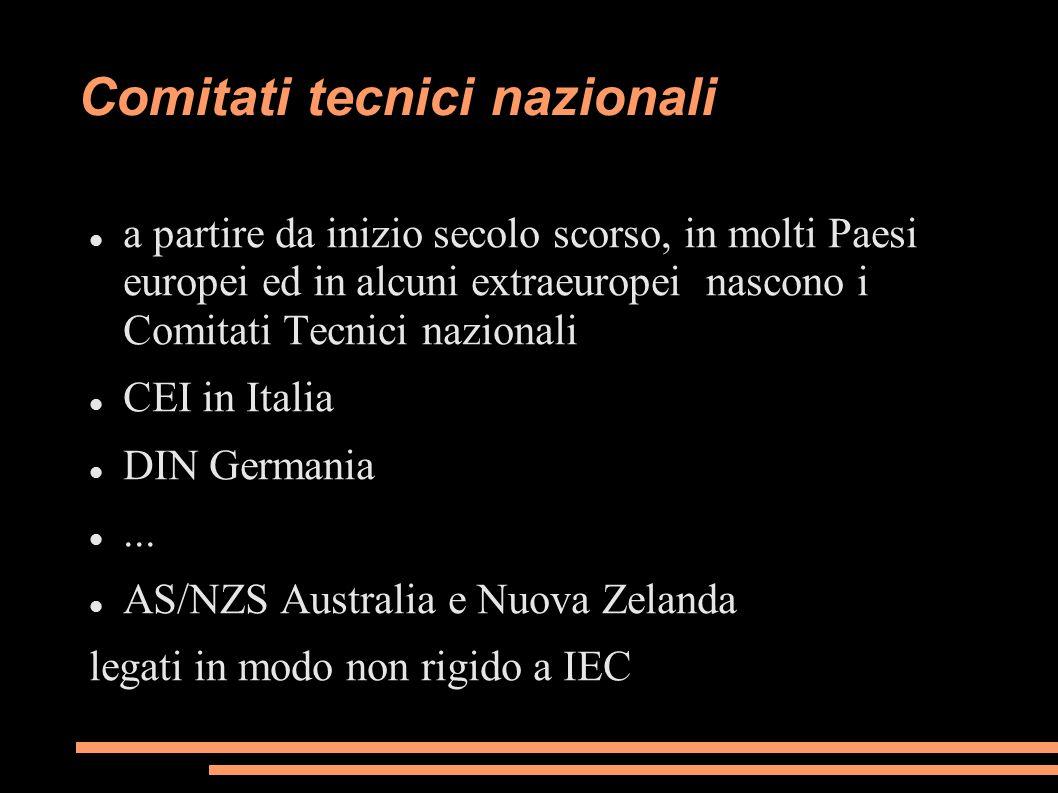 Comitati tecnici nazionali
