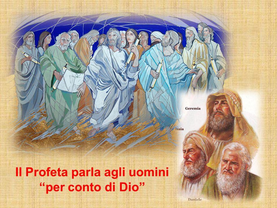 Il Profeta parla agli uomini