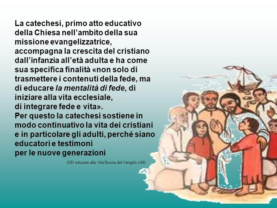 (CEI educare alla Vita Buona del Vangelo n39)