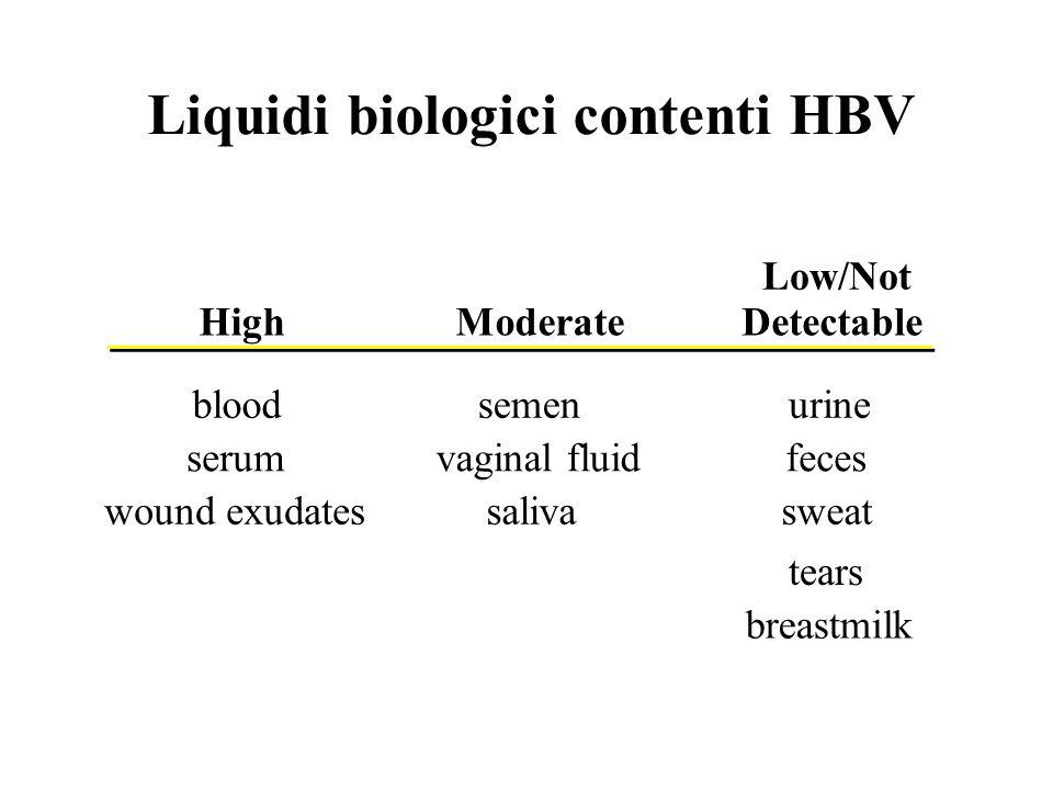Liquidi biologici contenti HBV