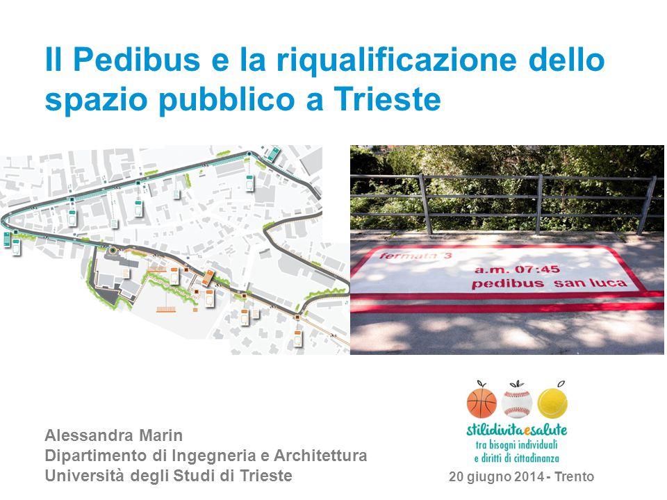 Il Pedibus e la riqualificazione dello spazio pubblico a Trieste