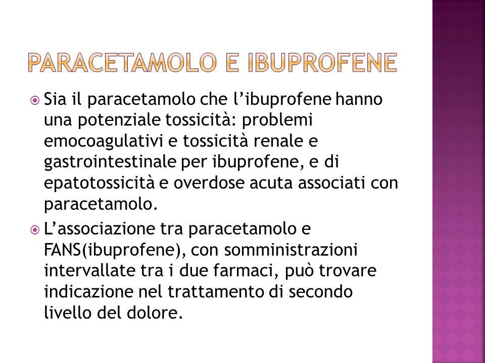 Paracetamolo e ibuprofene