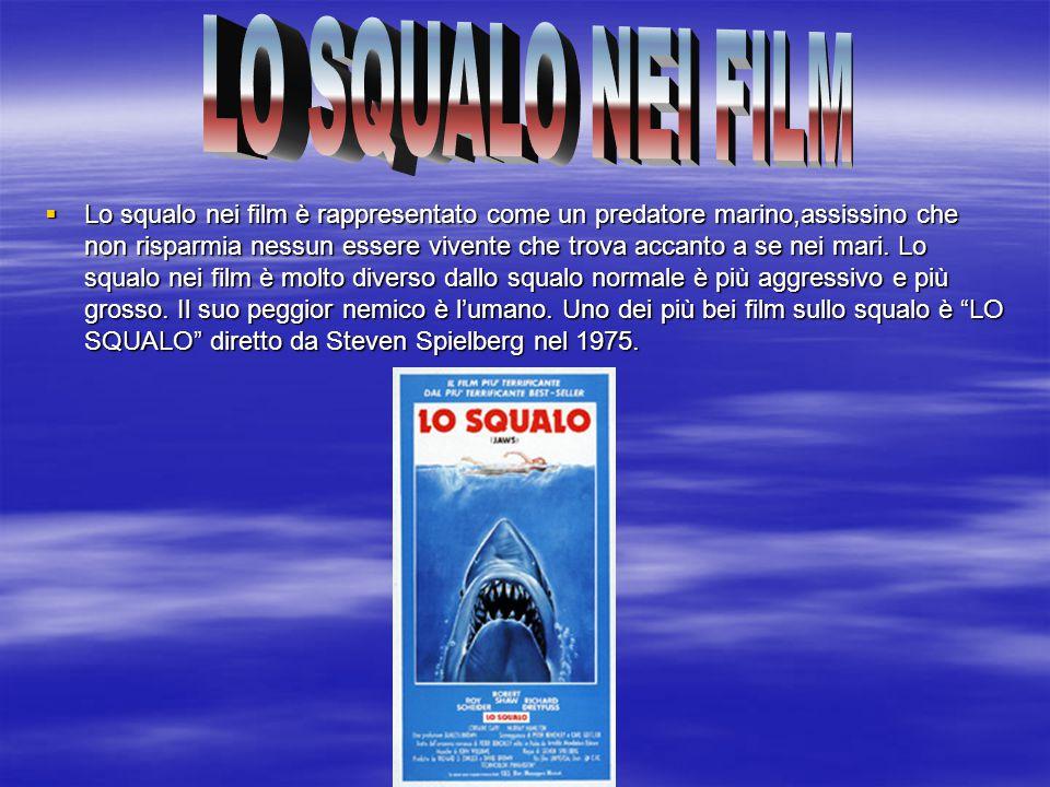 LO SQUALO NEI FILM