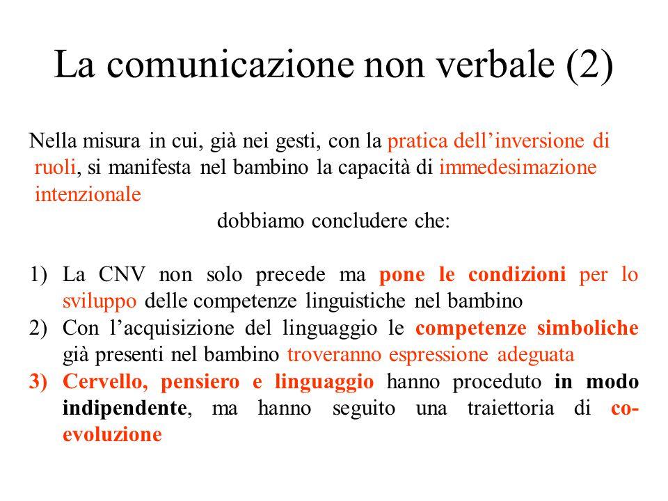 La comunicazione non verbale (2)