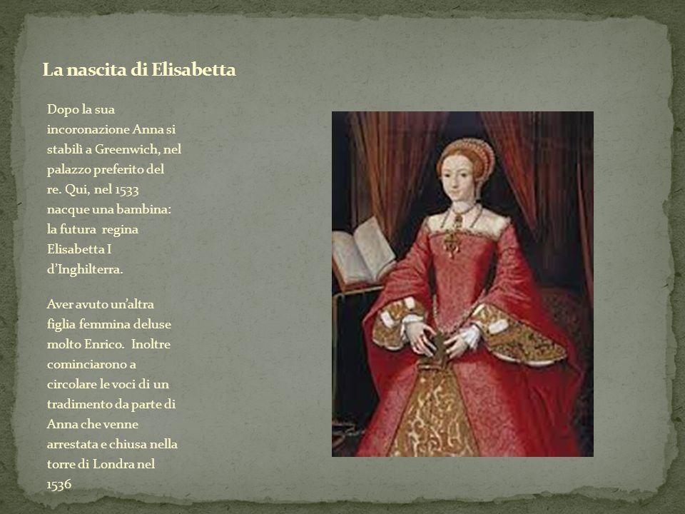 La nascita di Elisabetta