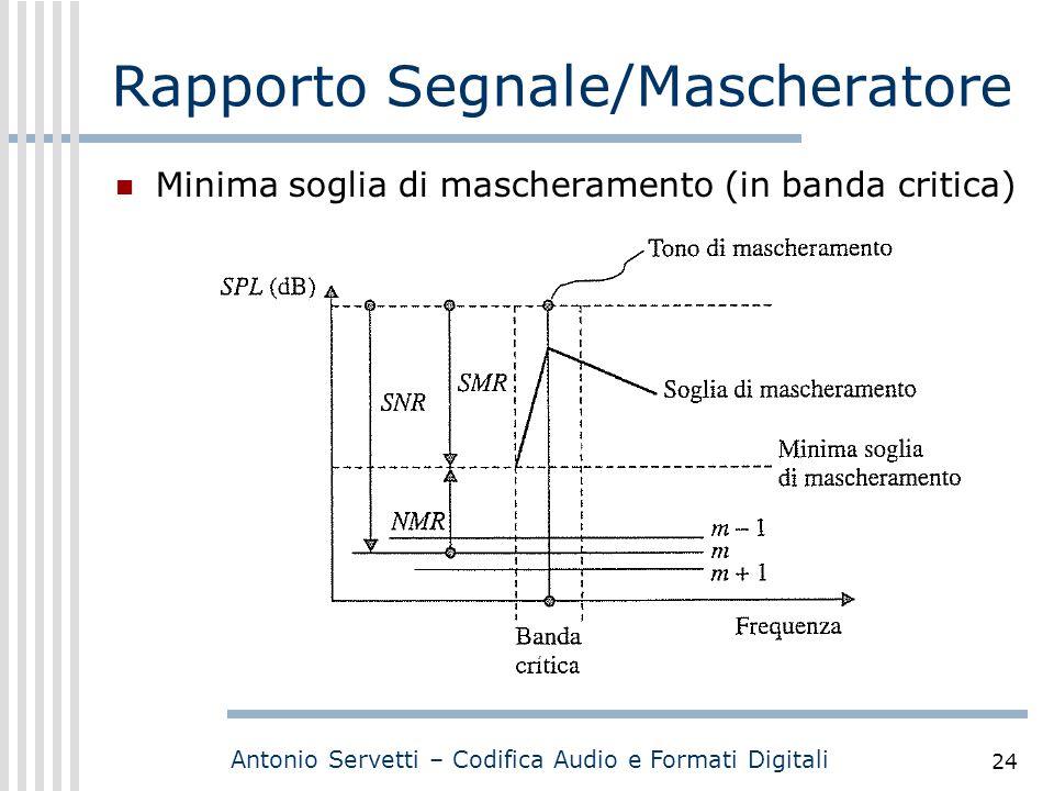 Rapporto Segnale/Mascheratore
