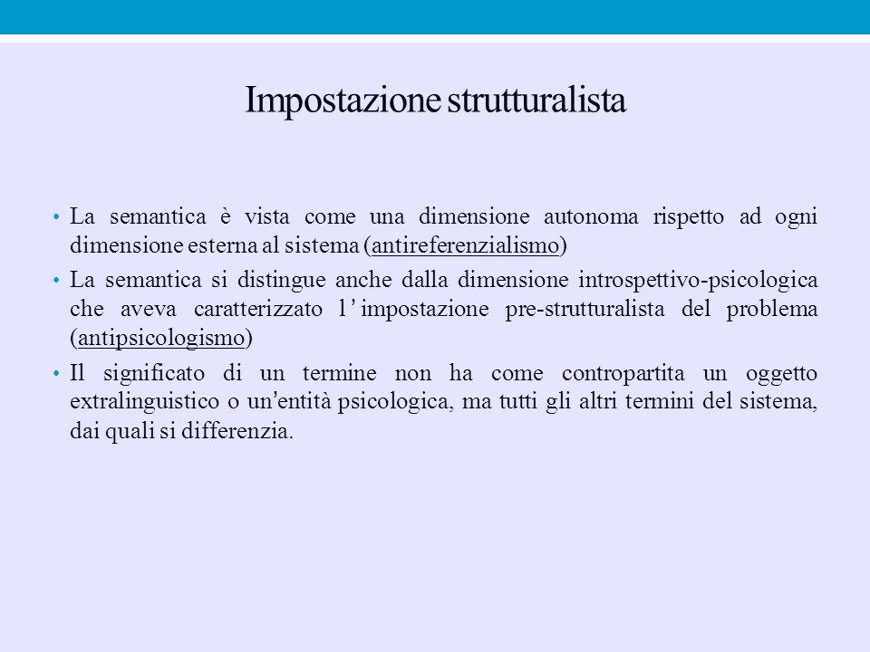 Impostazione strutturalista