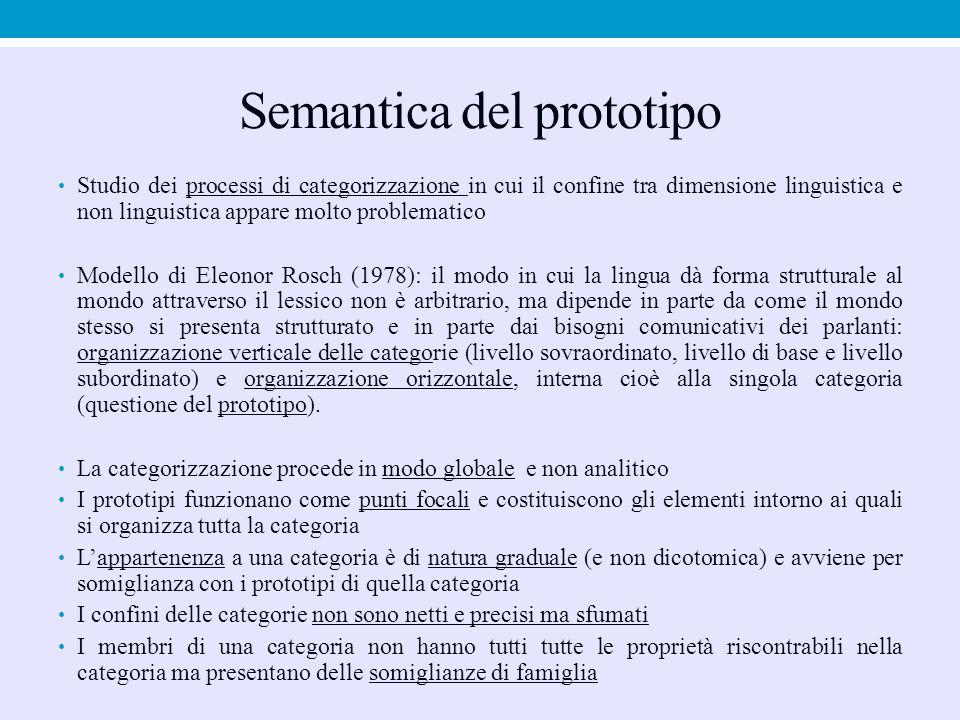 Semantica del prototipo
