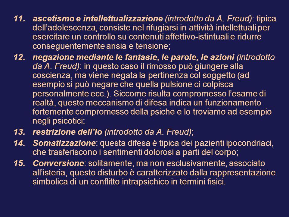 ascetismo e intellettualizzazione (introdotto da A