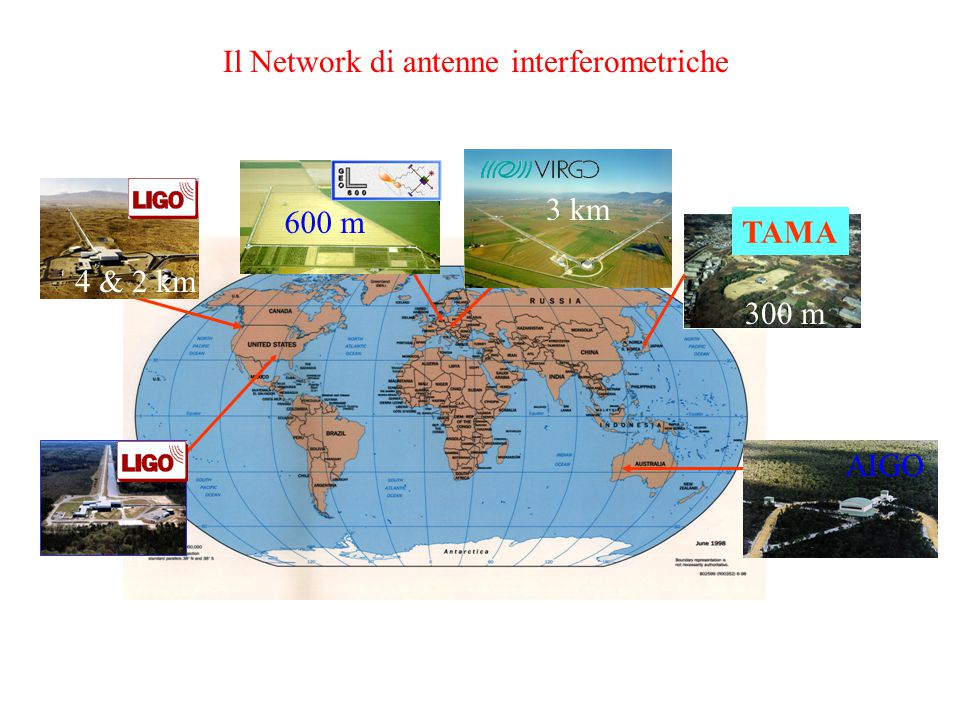 Il Network di antenne interferometriche