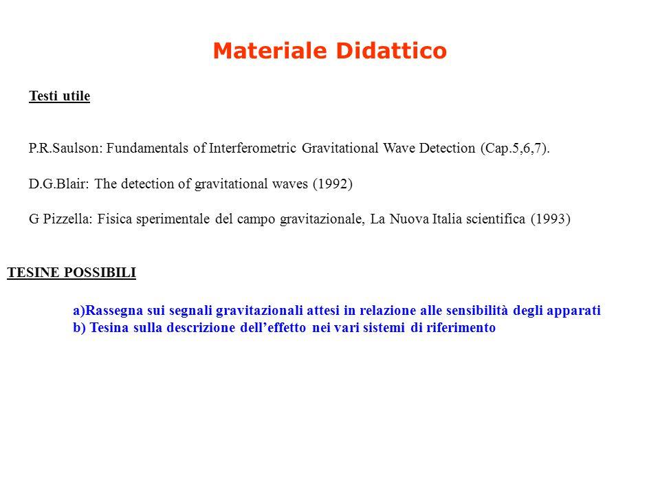 Materiale Didattico Testi utile