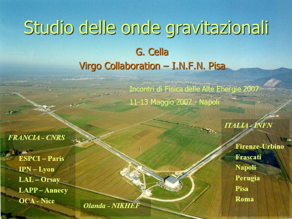 Studio delle onde gravitazionali