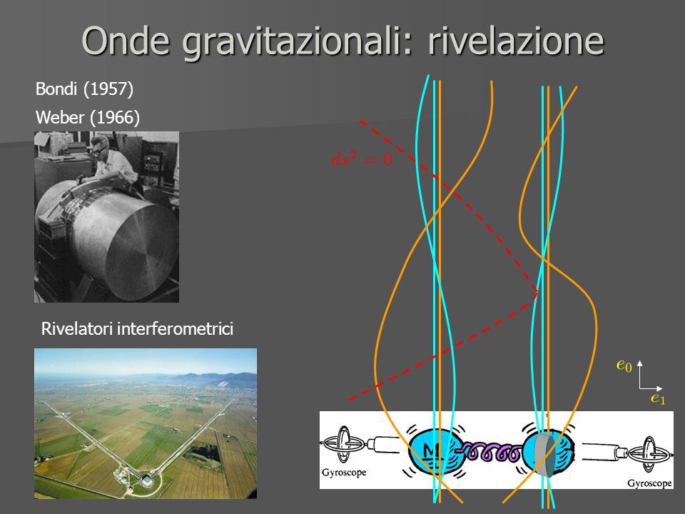 Onde gravitazionali: rivelazione