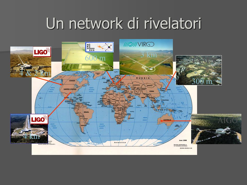 Un network di rivelatori