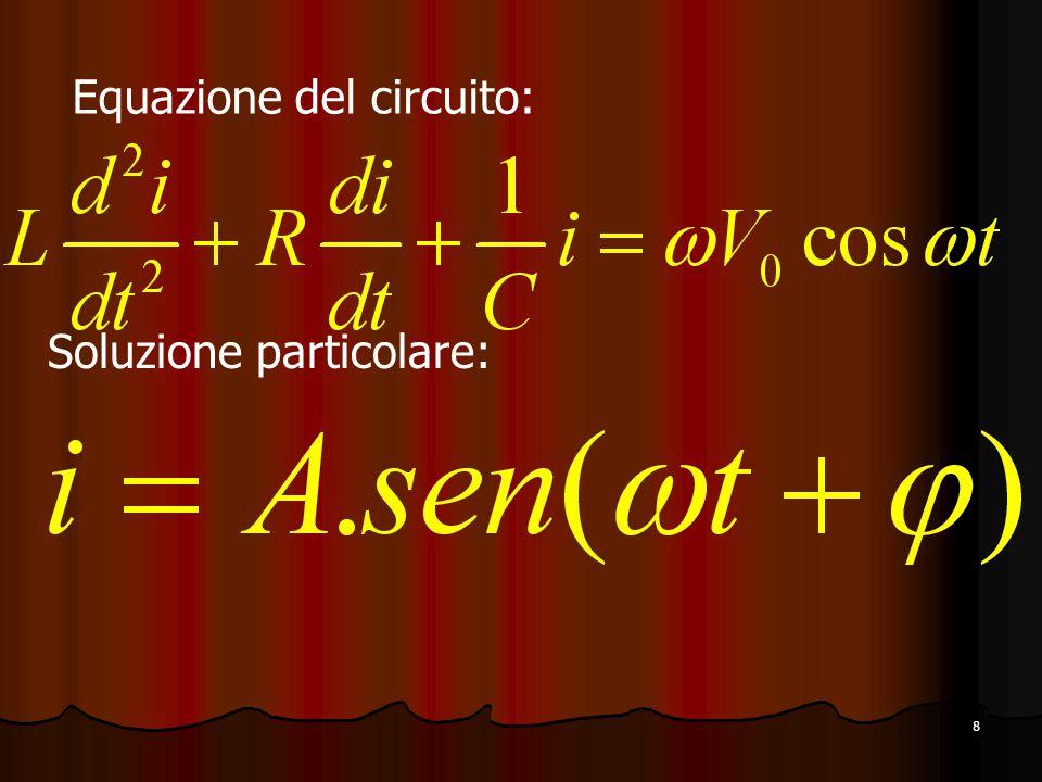 Equazione del circuito:
