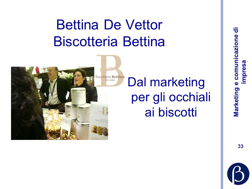 Bettina De Vettor Biscotteria Bettina