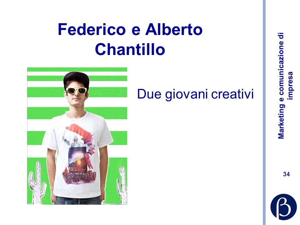 Federico e Alberto Chantillo