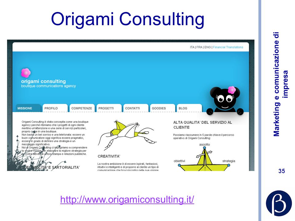 Origami Consulting http://www.origamiconsulting.it/