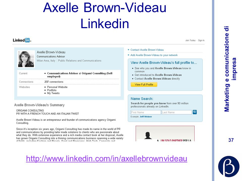 Axelle Brown-Videau Linkedin