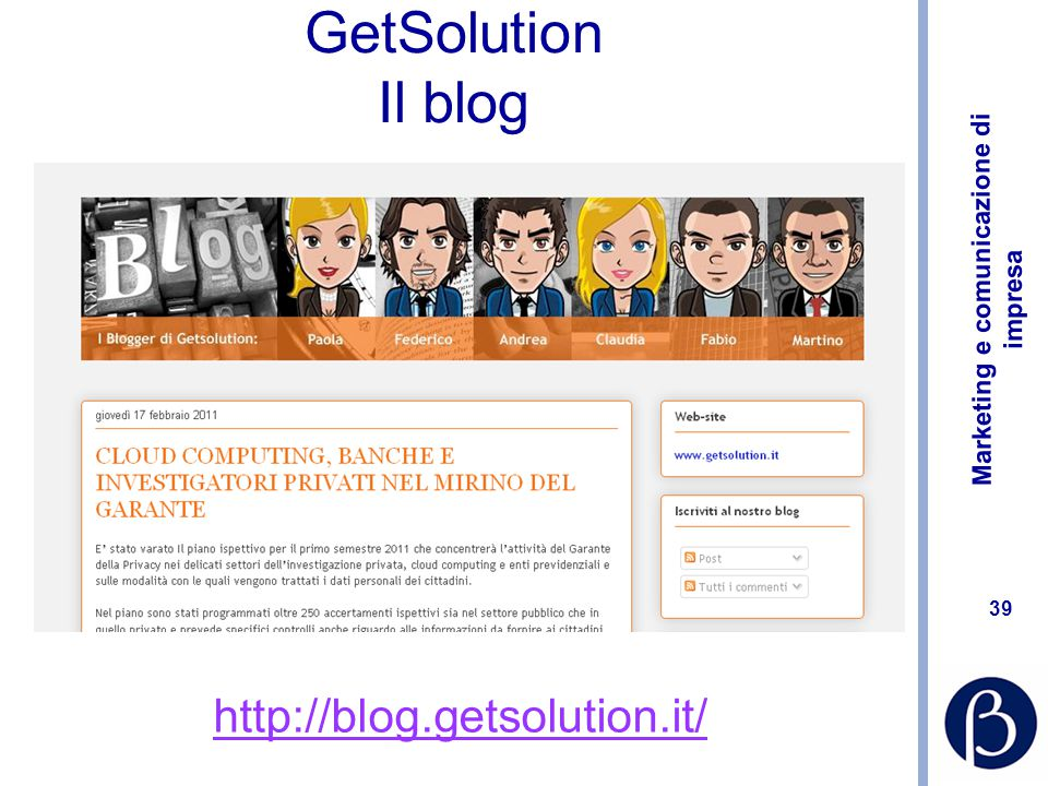 GetSolution Il blog http://blog.getsolution.it/