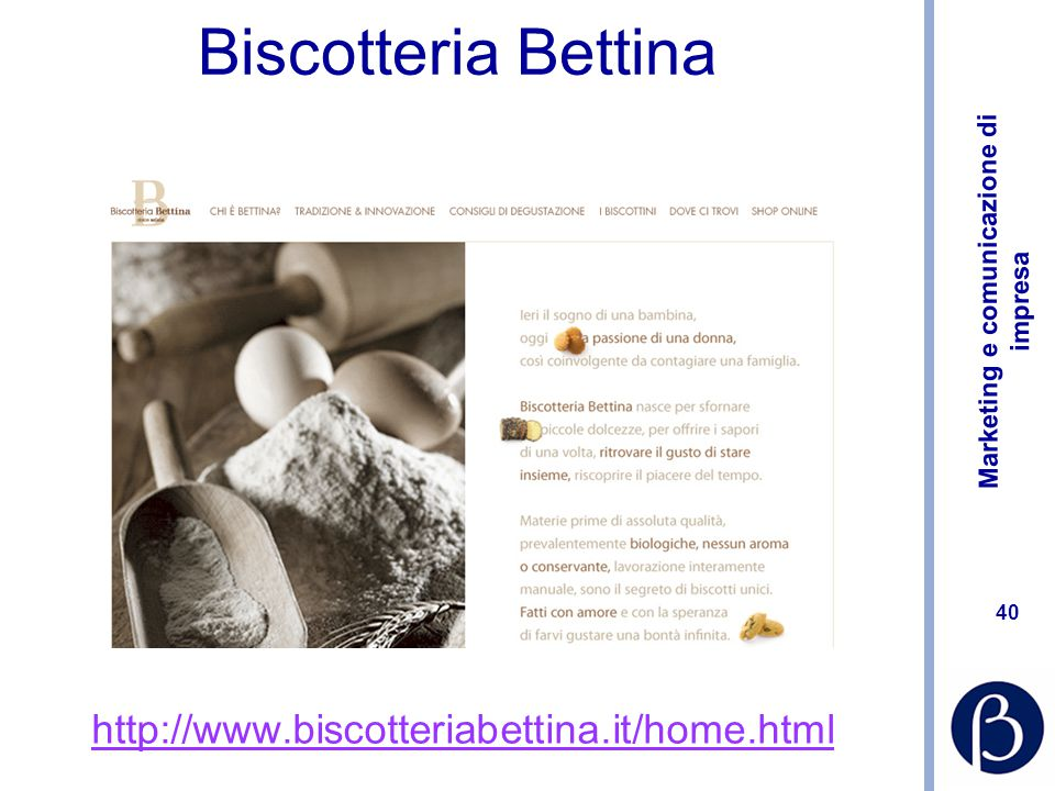 Biscotteria Bettina http://www.biscotteriabettina.it/home.html