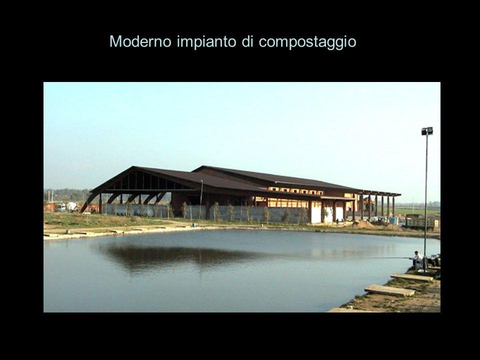 Moderno impianto di compostaggio