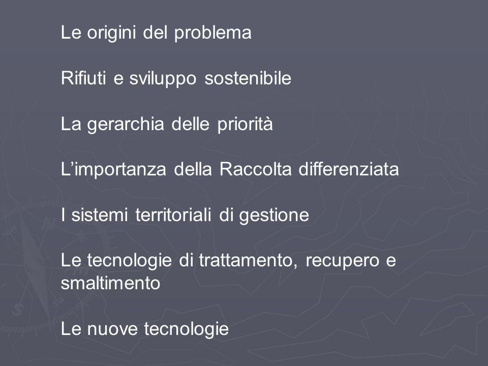 Le origini del problema