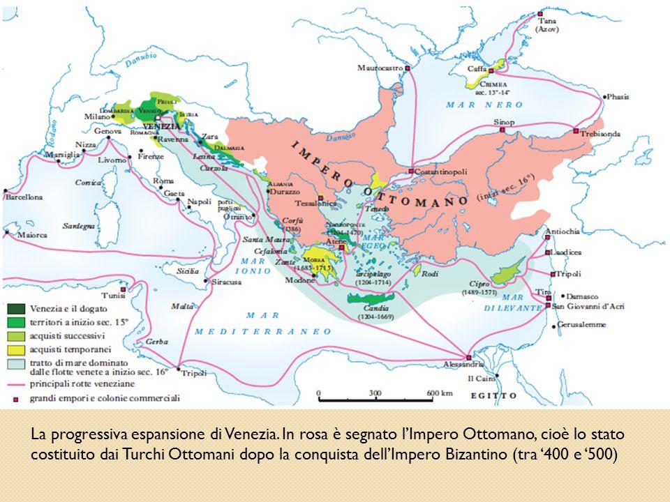 La progressiva espansione di Venezia