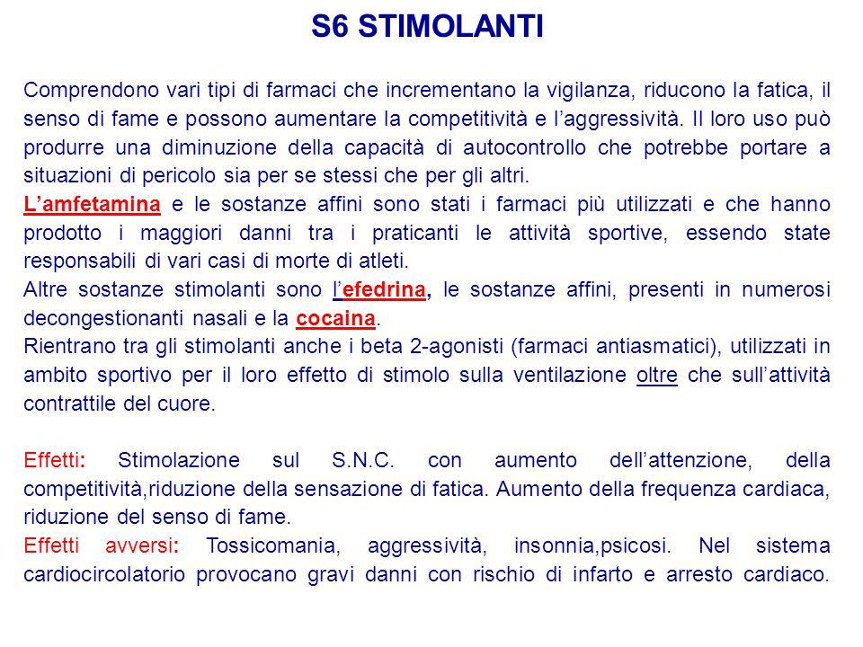 S6 STIMOLANTI