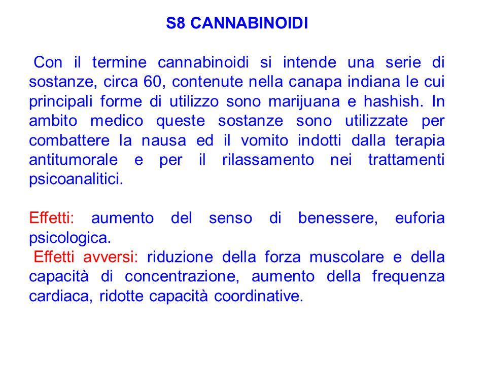 S8 CANNABINOIDI