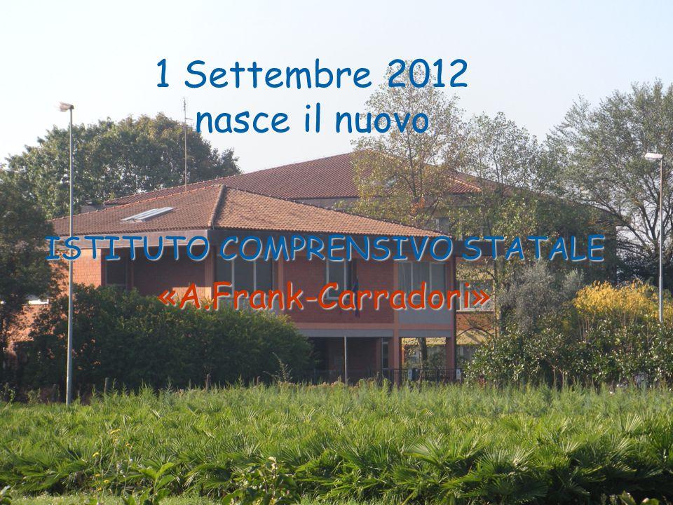1 Settembre 2012 nasce il nuovo